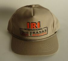 Oil Well Rig Baseball Trucker Cap * IRI International IDECO FRANKS MOBILRIG