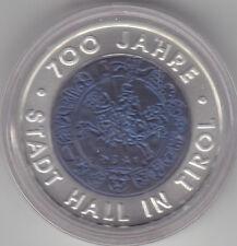 Österreich - 25 Euro 2003 Niob hgh - 700 Jahre Stadt Hall - komplett - 50 Tsd.