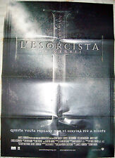 POSTER LOCANDINA CINEMA FILM HORROR MOVIE-L'ESORCISTA THE EXORCIST LA GENESI box
