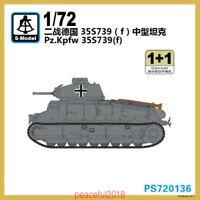 S-model 1/72 PS720136 Pz.Kpfw.35S739(f) (1+1)