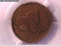 1858 Flying Eagle Cent PCGS VF 35 Small Letters 33243586 Video