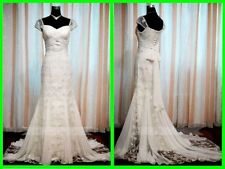 Lace Cap Sleeve Mermaid & Trumpet Wedding Dresses