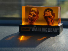 The Walking Dead Walker Head Statue Negan Grimes Dixon Zombie Car Decoration