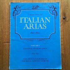 Italian Arias 1600-1800 Vol 1 for Low or Alto Voice ABRSM
