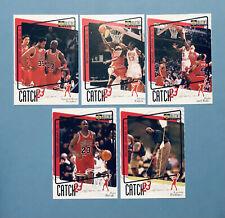 Michael Jordan Catch 23 Insert 5 Card Lot, 186, 189, 193, 194, 195