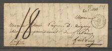 Lettre cursive 12/Les Crottes + c.15 Aix-en-Provence, 28.7.1846 X4003