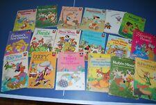 Vintage Wonderful World of Reading Disney Books HardCover 1970s Lot of 18