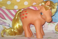 G1 My Little Pony Apples Earth Ponies Applejack Generation 1 Minty Toy 1983 Rare