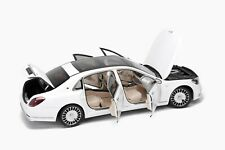 Mercedes Maybach S-Class 2019 Diamond White 1:18 by Almost Real |  820111