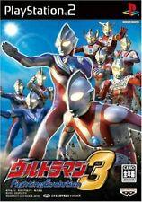 PS2 Ultraman Fighting Evolution 3 Japan PlayStation 2
