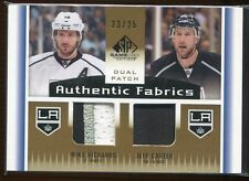 2013-14 SP Game Used Authentic Fabric Mike Richards Jeff Carter Dual Patch 23/25