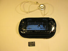 Sony PSP 1003 Black Handheld System with one game