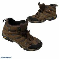 Merrell Moab Mid Waterproof Gore Tex Hiking Boots Dark Earth Mens Sz 11 J87701