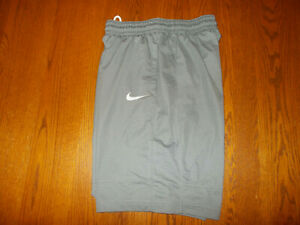 NIKE GRAY ATHLETIC SHORTS MENS MEDIUM EXCELLENT CONDITION