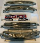 Hawthorne Village Collectible NY Giant train Set Still Wrapped In Plastic !!!