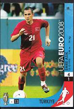 Football Card - Panini UEFA Euro 2008 - No 58 - Turkey - Emre Asik