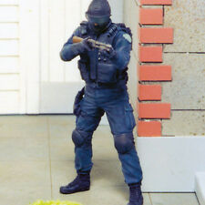 SOL fabbrica resina, MM089, 1:35, squadra SWAT #4