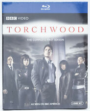 Torchwood - The Complete First Season (Blu-ray Disc, 2008, 6-Disc Set, Giftset)