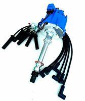 HEI Distributor + Plug Wire Chevy GMC 262 4.3L 6 Cyl EFI To Carb Swap (226+1215)