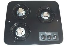 RV/Camper Suburban Drop in  Cooktop SDN3-Black 3 Burner 2938A