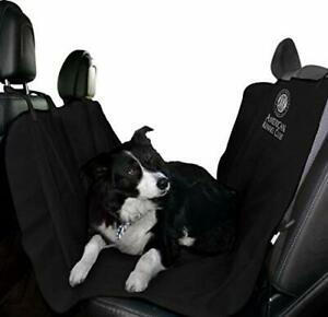 Delux Car Rear Back Seat Cover Waterproof Dog Padded SUV Bench Protect Mat Black