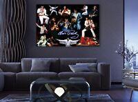 Prince Singer Legend Five Piece Framed Canvas Multi Panel Home Decor Wall