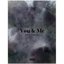 KARD - [You&Me] 2nd Mini Album CD+Poster+76p Booklet+2p PhotoCard+Pre-Order ITEM