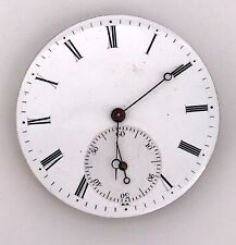 Machinery Vintage Hand Manual Pocket Watch Pocket 39 mm Doesn'T Works 3WC