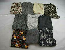 Wholesale Bulk Lot of 10 Womens Medium Casual Pajama Lounge Sleepwear Pants
