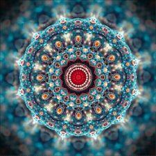 Cyan Kaleidoscope Diy Full Drill 5D Diamond Painting Mosaic Art Craft Kits Art