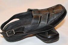 Easy Street Slip-on Shoes Adjustable Back Strap Sterling Black Size 8 M