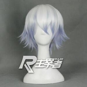 Anime GINTAMA Sakata Gintoki Wigs Lolita Harajuku Short Hair Hairpiece Cosplay