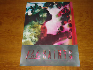 PALE SAINTS - THE COMFORTS OF MADNESS - ORIGINAL UK 4AD PROMO POSTER -NEAR MINT