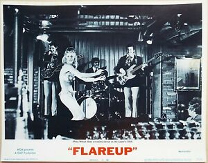 Flareup 1970 Original US Lobby Card