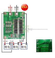 3s 24a Li-ion batteria al litio 18650 BATTERIE CARICABATTERIE PANNELLO di protezione Max 36a