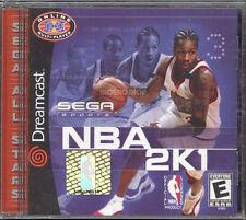 NBA 2K1  (Sega Dreamcast, 2000) BNISW DAY U PAY IT SHIPS FREE