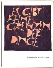 Kunst Moderne Buchdruck Typografie Design Klingsor Museum Offenbach Katalog 1957