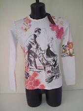 roberto cavalli t-shirt   la  dolce  vita   tg  46