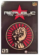 Republic The Revolution Pc 2003 Brand New Sealed Retail Box Free US Ship Nice XP