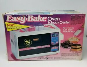 Vintage 1997 Hasbro Easy Bake Oven ALMOST COMPLETE in Box WORKING