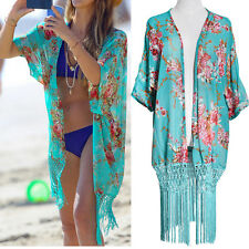 Women Summer Beach Dress  Lace Crochet Bikini Cover Up Swimwear Bathing Suit