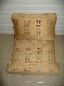 Frontgate Cassara Teak Sofa CHAIR Replacement Cushion SUNBRELLA Acapulco Flame