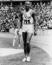1936 Berlin Olympics JESSE OWENS Glossy 8x10 Photo USA Print Poster Gold Medal