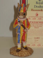 ROYAL DOULTON BUNNYKINS PUNCH & JUDY SET MR PUNCH DB234 1ST QUALITY LTD EDT UKI