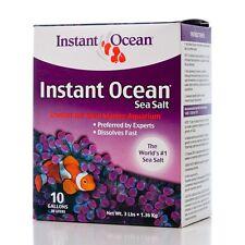 Instant Ocean SEA SALT 10 Gallon Mix  FREE SHIPPING