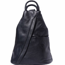 Backpack Purses Bag Italian Genuine Leather Hand made in Italy Florence 2061 bk