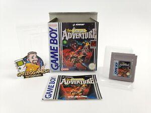 "Nintendo Gameboy Classic Spiel "" The Castlevania Adventure "" Game Boy NOE OVP"