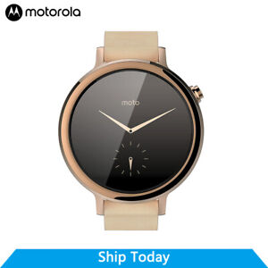 Motorola Moto 360 (2nd Gen.) - 42mm, Rose Gold with Blush Leather, Womens