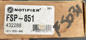 NOTIFIER FSP-851 PHOTOELECTRIC SMOKE DETECTOR..NEW IN BOX