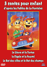 DVD 3 contes pour enfant d'après les Fables de La Fontaine